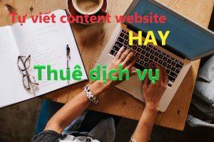 Dịch vụ viết bài cho website mới uy tín giá rẻ nhanh top Google